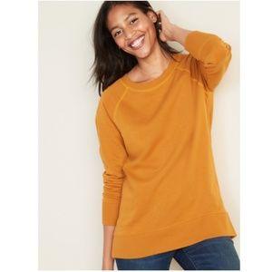 Cozy Tunic Length Sweatshirt
